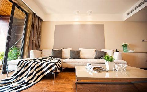 简约风格123平米两室两厅室内装修效果图