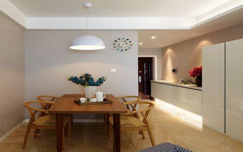 欧式风格90平米公寓室内装修效果图