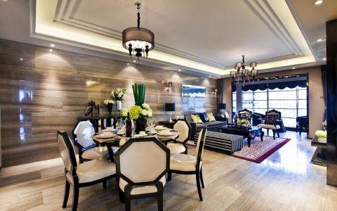 餐厅吊顶美式风格装潢设计图片
