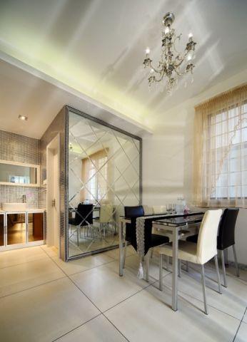 餐厅窗帘现代简约风格装饰设计图片