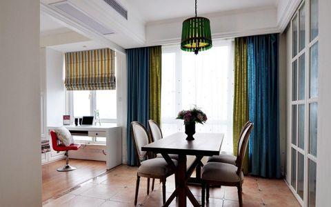 美式风格110平米公寓室内装修效果图