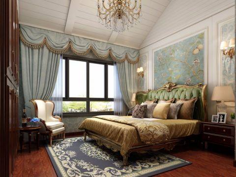 卧室美式风格装饰设计图片