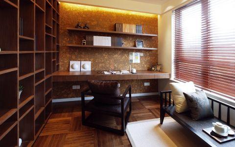 书房博古架中式古典风格装潢设计图片