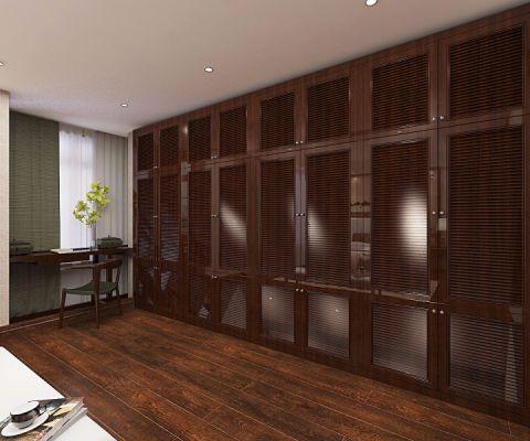 书房地板砖中式风格装潢设计图片