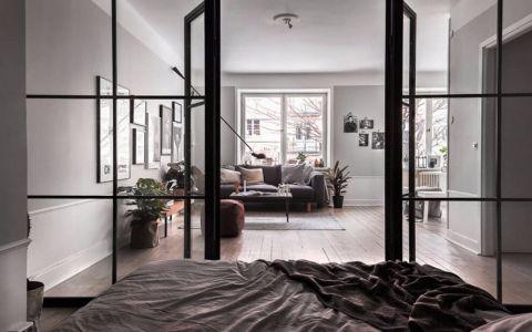 客厅地板砖北欧风格装修效果图