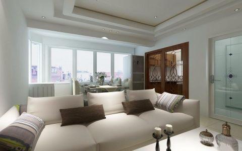 简约风格140平米四室两厅新房装修效果图