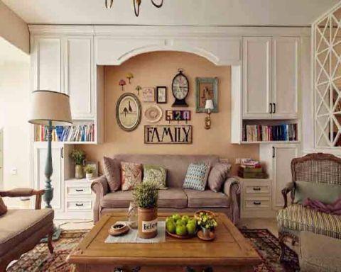 80平米法式二居室装修效果图