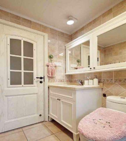 卫生间法式风格装潢图片