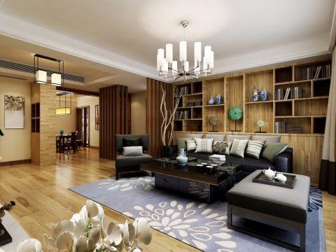 现代风格168平米四室两厅室内装修效果图