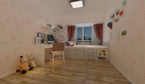 南区恒大绿洲120m²现代简约风格三居室装修效果图