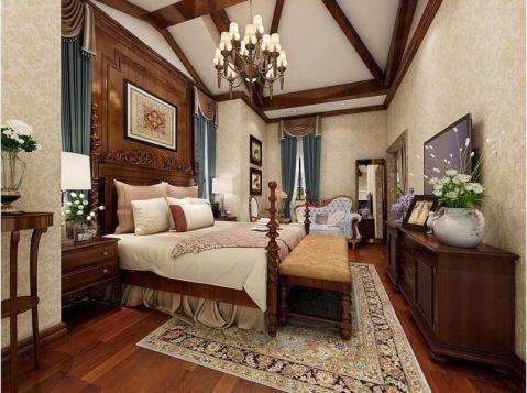 卧室电视柜美式风格效果图
