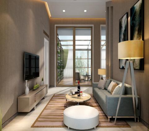 古典风格120平米三室两厅新房装修效果图