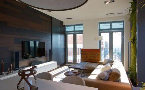 简约风格110平米两室两厅新房装修效果图