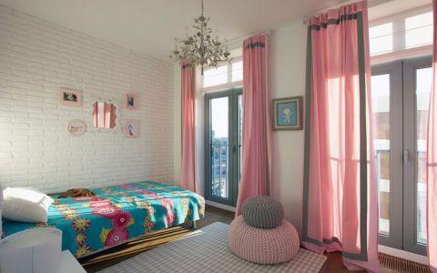 儿童房窗帘简约风格装饰图片