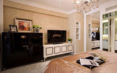 卧室电视柜简欧风格装修图片