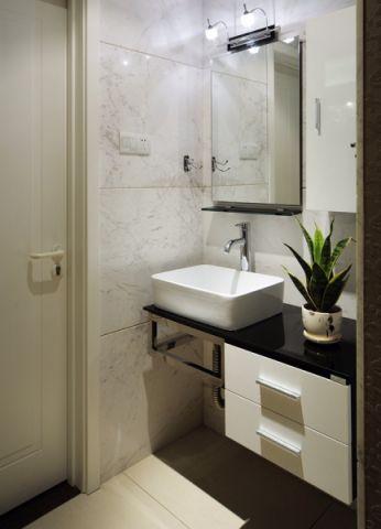 卫生间现代简约风格效果图