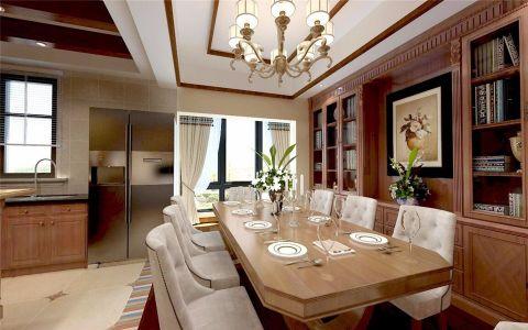 东南亚风格100平米复式新房装修效果图