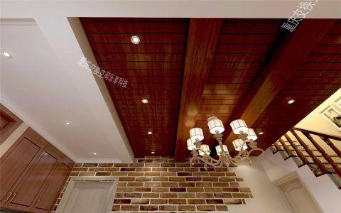 客厅吊顶东南亚风格效果图