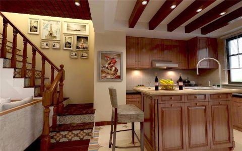 厨房橱柜东南亚风格装修效果图