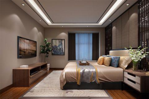 卧室电视柜新中式风格装修效果图