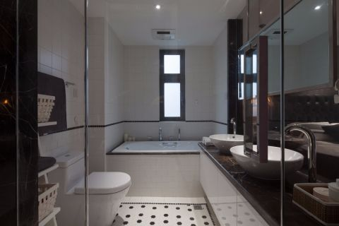 浴室浴缸简约风格装修设计图片