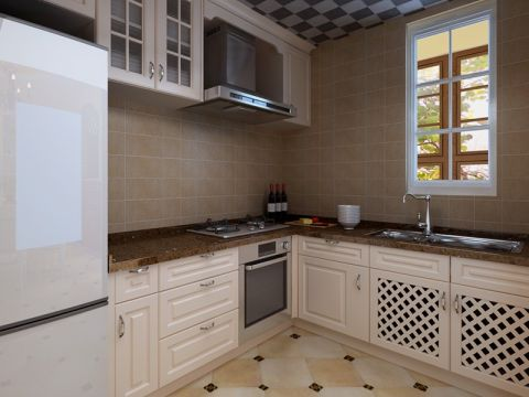 厨房橱柜地中海风格装饰设计图片