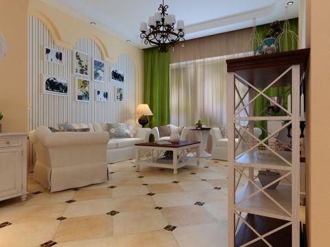 地中海风格110平米公寓新房装修效果图