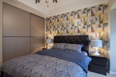 卧室床现代简约风格装修设计图片