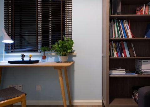 客厅书桌简约风格装饰图片