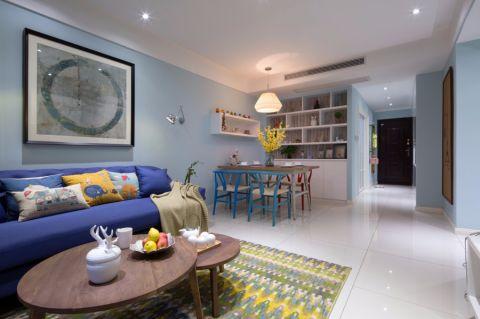 客厅茶几简约风格装饰设计图片