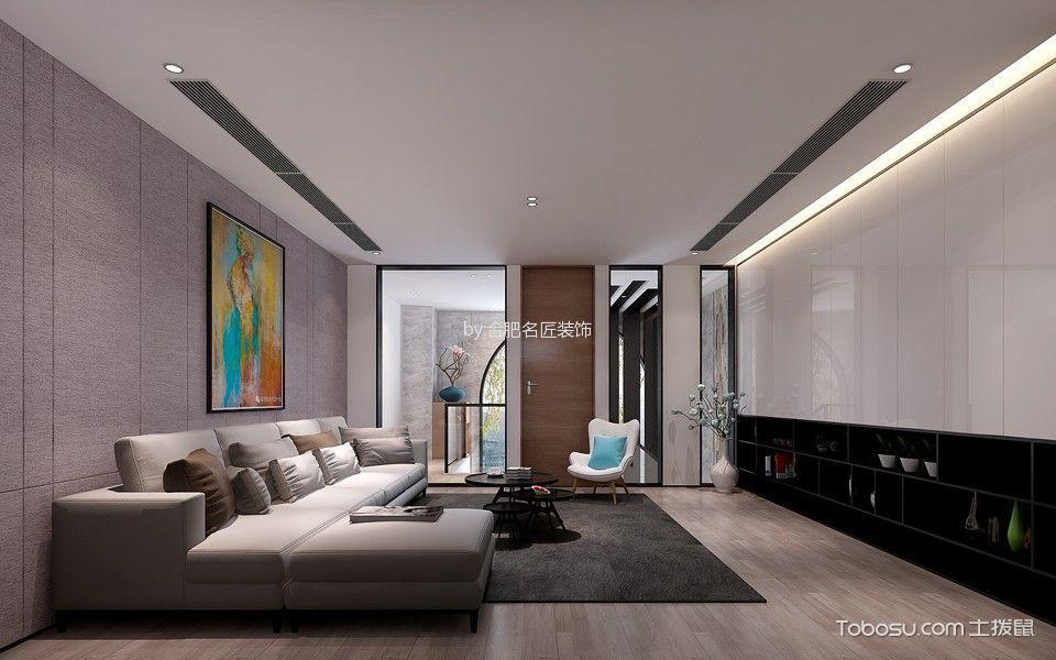 现代风格320平米大户型室内装修效果图