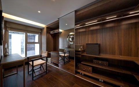 书房书桌后现代风格装修设计图片