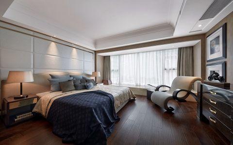 后现代风格110平米三室两厅新房装修效果图