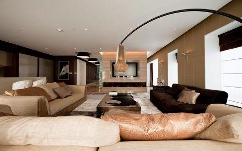 现代简约风格140平米四室两厅新房装修效果图
