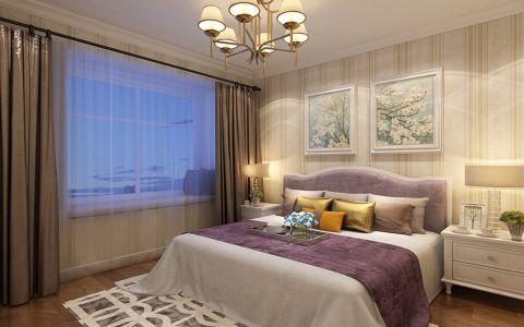 卧室窗帘简欧风格装修图片