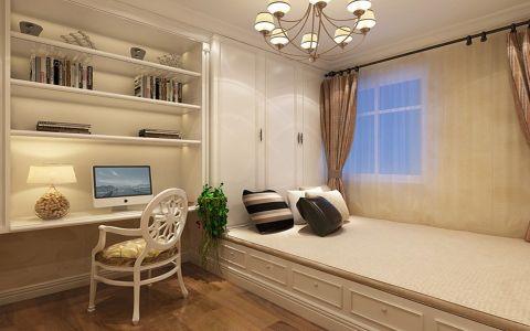卧室榻榻米简欧风格装饰图片