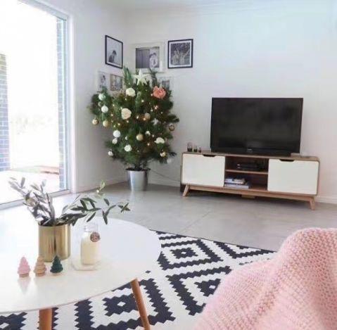 客厅电视柜北欧风格装修效果图