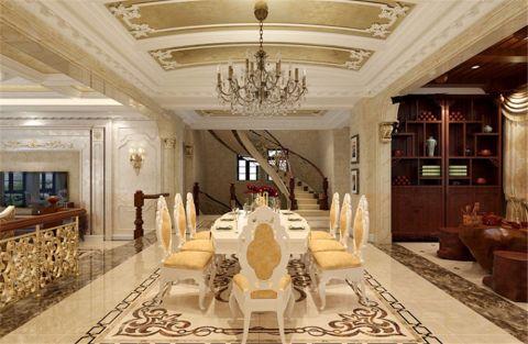 欧式风格500平米别墅新房装修效果图