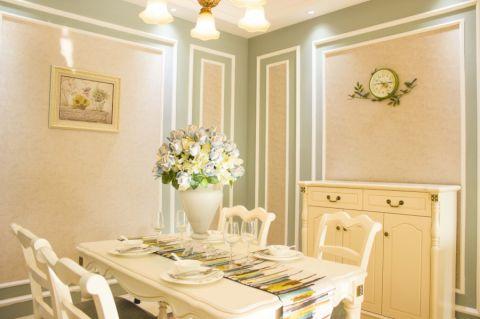 餐厅餐桌法式风格装饰效果图