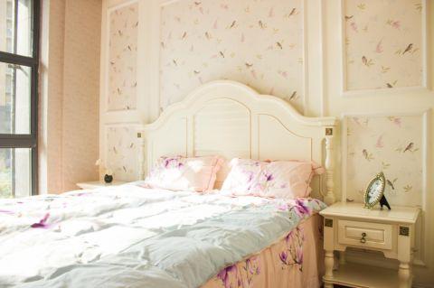 卧室床法式风格装潢效果图