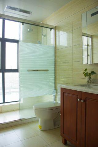 卫生间洗漱台法式风格装修图片