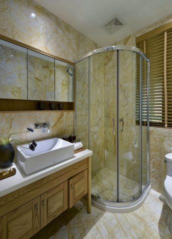 卫生间隐形门后现代风格装饰图片