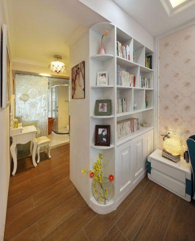 书房地板砖欧式风格装饰设计图片