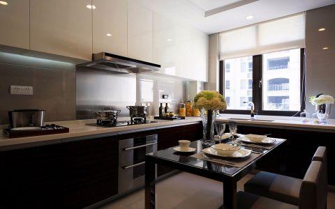 厨房橱柜现代简约风格装修效果图