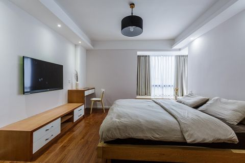卧室吊顶日式风格装饰效果图