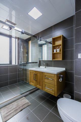 卫生间吊顶日式风格装潢效果图
