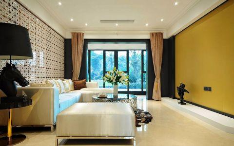 现代风格120平米两室两厅新房装修效果图