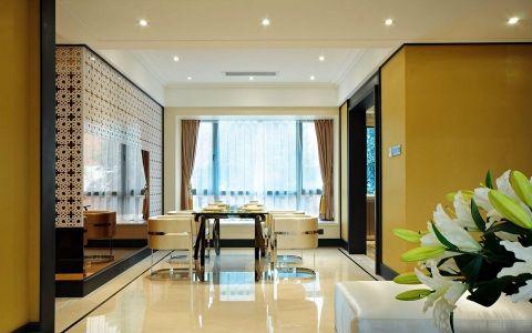 餐厅地砖现代风格装饰图片
