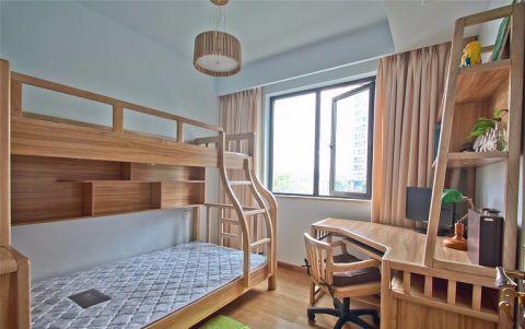 儿童房窗帘新中式风格装修图片
