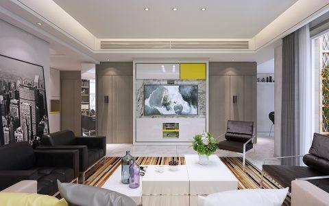 现代风格180平米大户型新房装修效果图